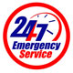 Emergency Service Sign 24/7