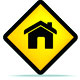 House on a Yellow Hazard Sign