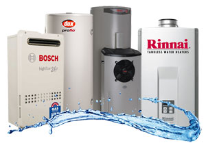Gas & Electric Hot Water Systems
